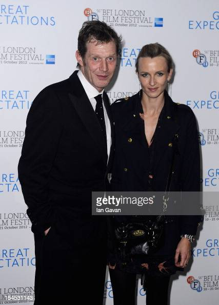 Jason Flemyng and Elly Fairman attend the afterparty for 'Great Expectations' which closes the 56th BFI London Film Festival at Battersea Power...