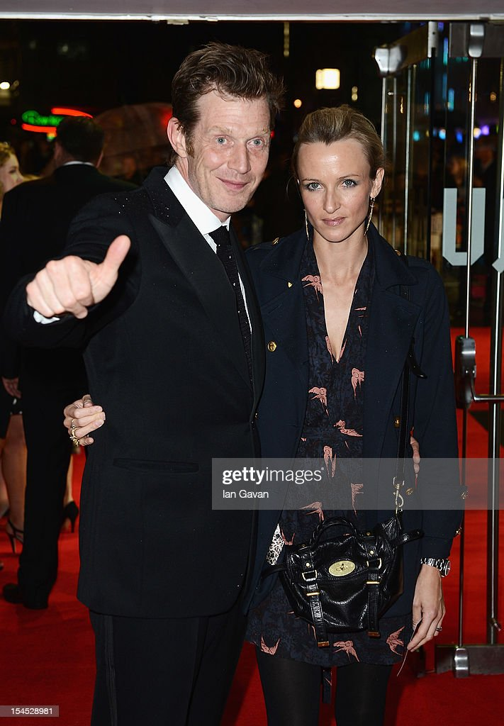 Jason Flemyng and Elly Fairman attend the Closing Night Gala of 'Great Expectations' during the 56th BFI London Film Festival at Odeon Leicester Square on October 21, 2012 in London, England.