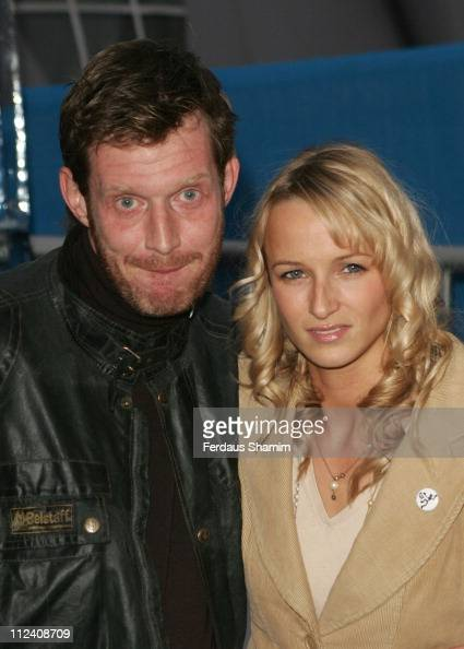 Jason Flemyng and Guest during 'IceSpace' Launch Party at IceSpace in London Great Britain