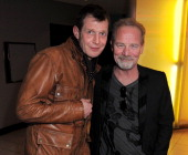 Jason Flemyng and Peter Mullan attend the UK Premiere of 'Welcome To The Punch' at the Vue West End on March 5 2013 in London England