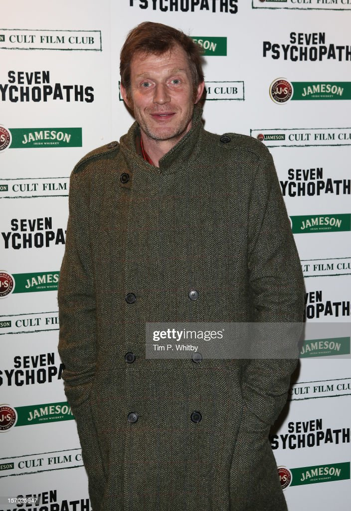 Jason Flemyng arrives at the Jameson Cult Film Club gala premiere of Seven Psychopathsat Oval Space on November 27, 2012 in London, England. Jameson Cult Film Club hosts immersive screenings of cult classics and new release 'Future Cult' films across the UK