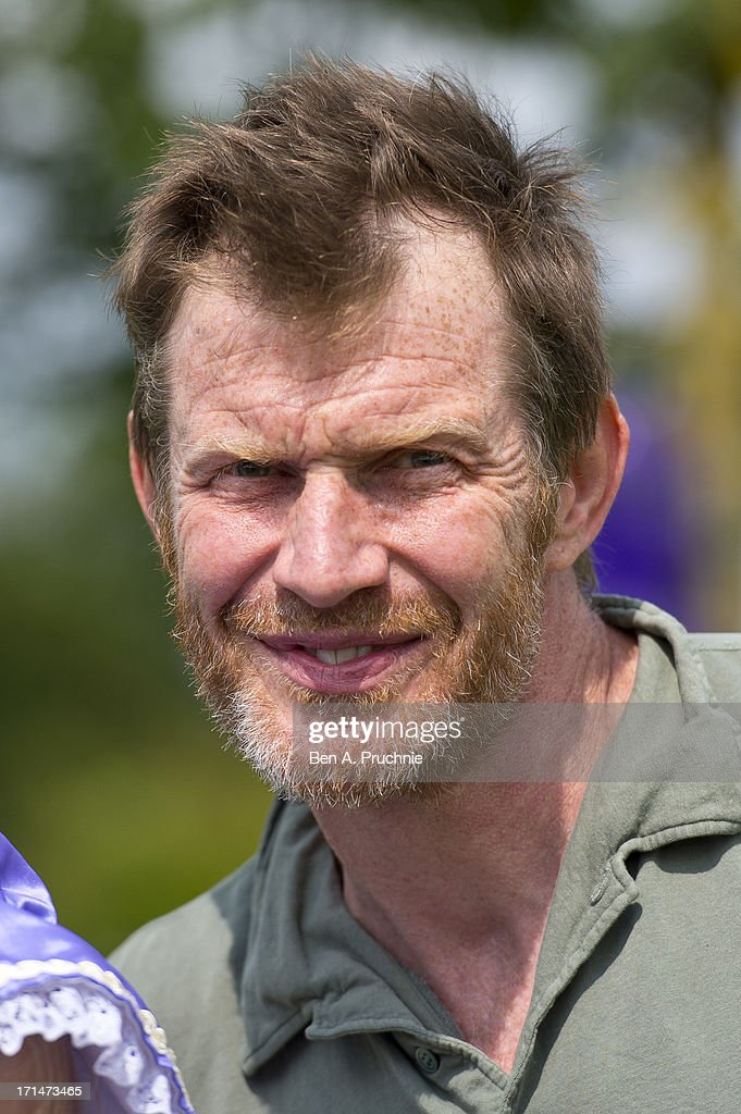 Jason Flemyng attends a photocall to launch The Big Toddle at Dulwich Park on June 25, 2013 in London, England.