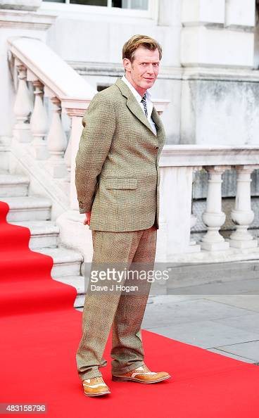 Jason Flemyng attends a UK Premiere of 'Gemma Bovery' at Somerset House on August 6 2015 in London England