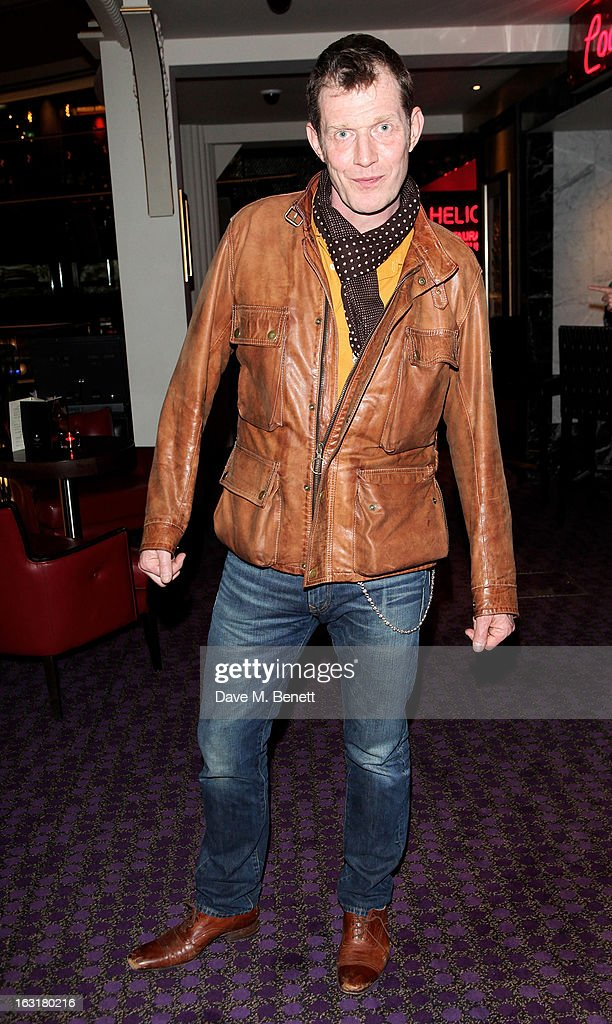 Jason Flemyng attends an after party following the 'Welcome To The Punch' UK Premiere at the Hippodrome Casino on March 5 2013 in London England