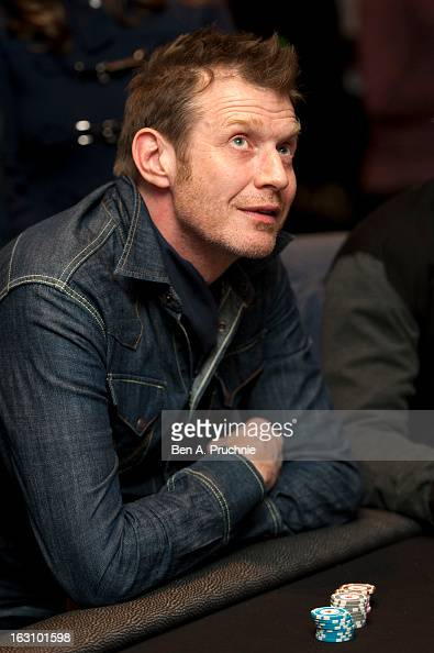 Jason Flemyng attends the launch of The PokerStars LIVE Lounge at The Hippodrome Casino London on March 4 2013 in London England