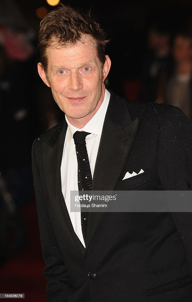 Jason Flemyng attends the premiere of 'Great Expectations' which closes the 56th BFI London Film Festival at Odeon Leicester Square on October 21, 2012 in London, England.