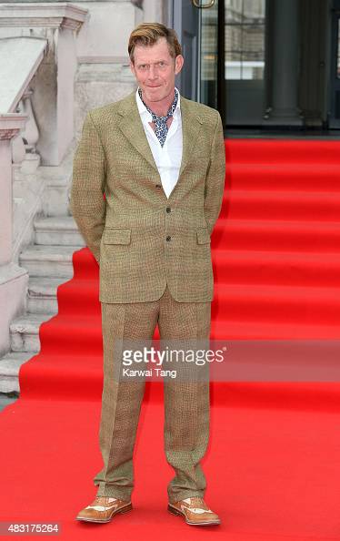 Jason Flemyng attends the UK Premiere of 'Gemma Bovery' at Somerset House on August 6 2015 in London England