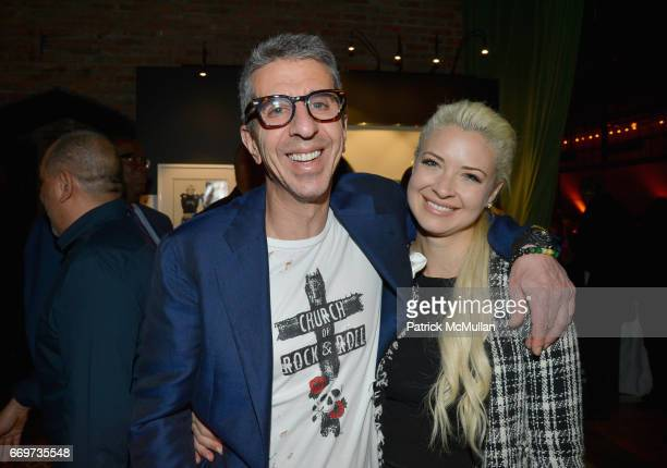 Jason Flom and Erica Stein attend The Turtle Conservancy's 4th Annual Turtle Ball at The Bowery Hotel on April 17 2017 in New York City