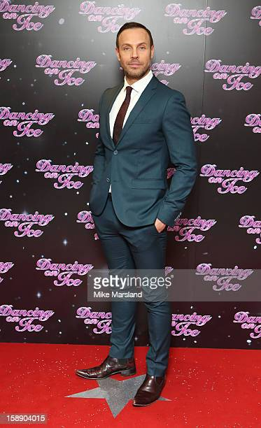 Jason Gardiner attends a photocall for the launch of Dancing on Ice 2013 at The London Television Centre on January 3 2013 in London England