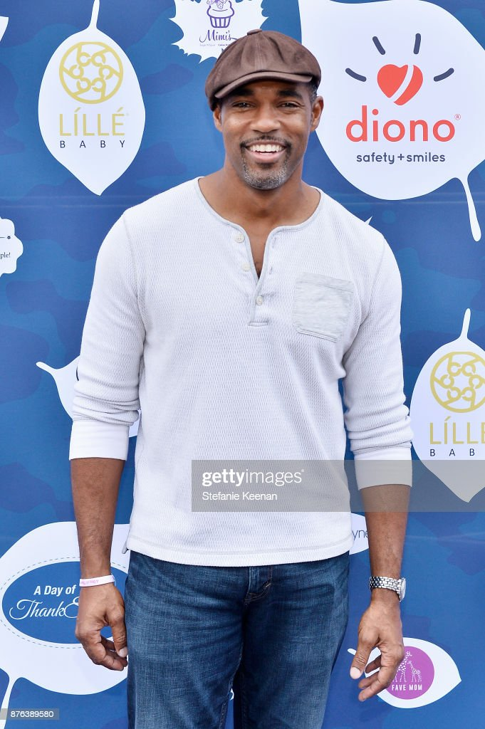 Jason George attends Diono Presents Inaugural A Day of Thanks and Giving Event at The Beverly Hilton Hotel on November 19, 2017 in Beverly Hills, California.