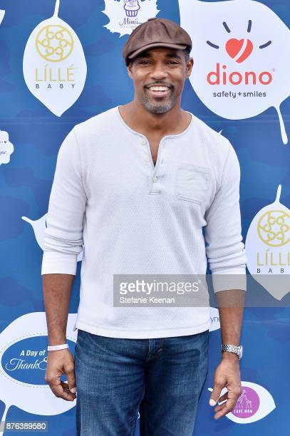 Jason George attends Diono Presents Inaugural A Day of Thanks and Giving Event at The Beverly Hilton Hotel on November 19 2017 in Beverly Hills...