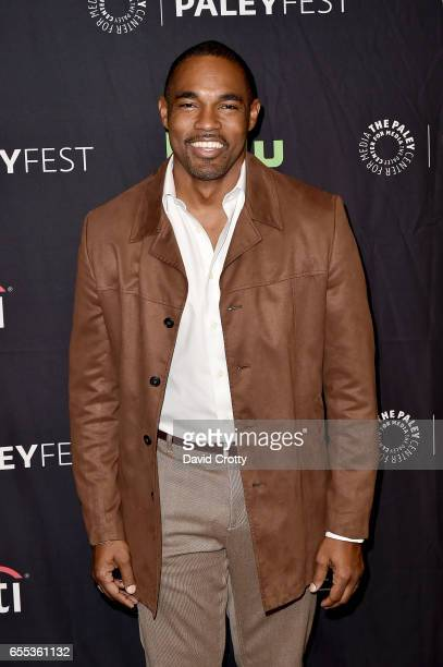 Jason George attends PaleyFest Los Angeles 2017 'Grey's Anatomy' at Dolby Theatre on March 19 2017 in Hollywood California