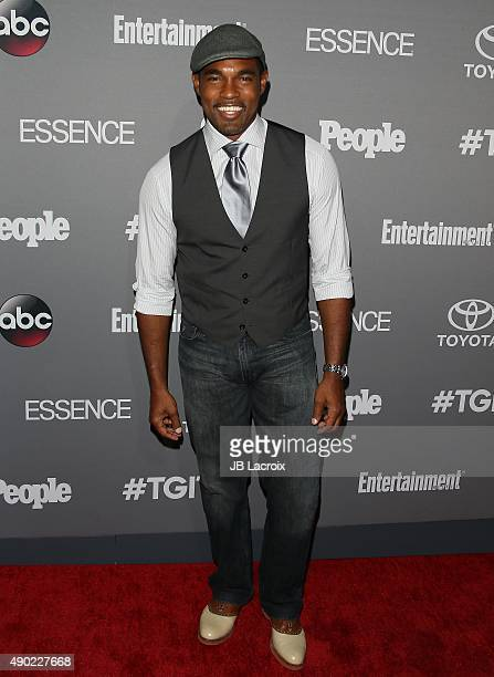 Jason George attends the Celebration of ABC's TGIT Lineup presented by Toyota and cohosted by ABC and Time Inc's Entertainment Weekly Essence and...