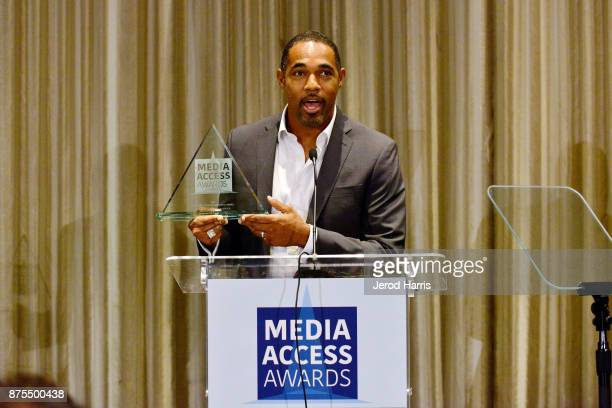 Jason George attends the Media Access Awards 2017 at The Four Seasons on November 17 2017 in Beverly Hills California