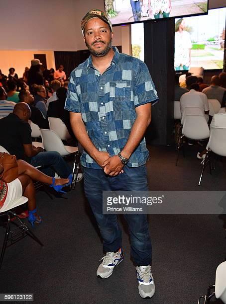 Jason Geter attends Celebrating 25 Years Boyz N The Hood on August 23 2016 in Atlanta Georgia