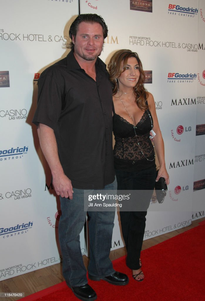 Jason Giambi and Christina Giambi during 2005 Billboard Music Awards Maxim After Party at The Hard Rock Hotel and Casino in Las Vegas Nevada United...