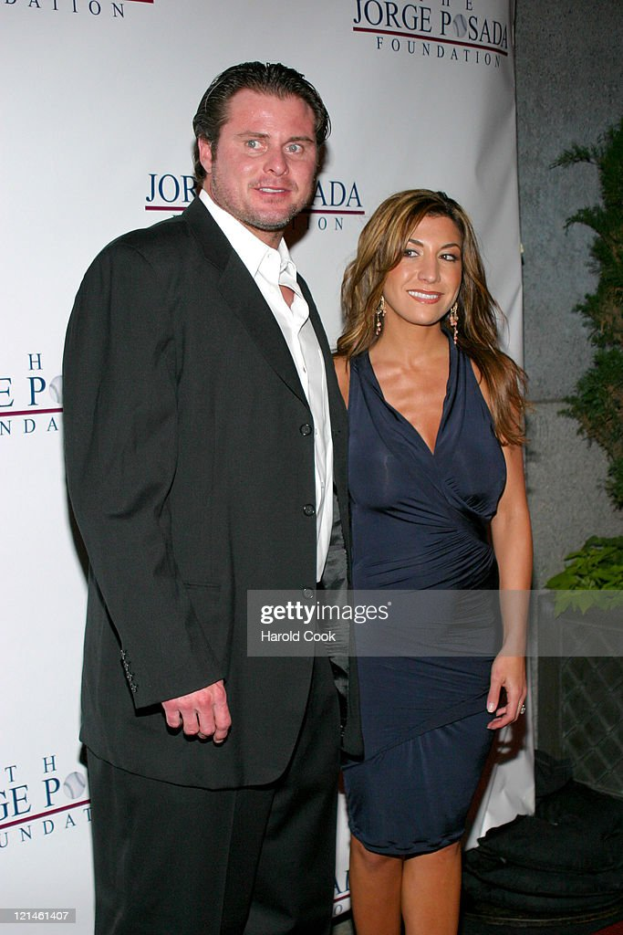 Jason Giambi and Christina Giambi during 4th Annual Jorge Posada Foundation Gala Benefiting Craniosynostosis at Cipriani Wall Street in New York City...