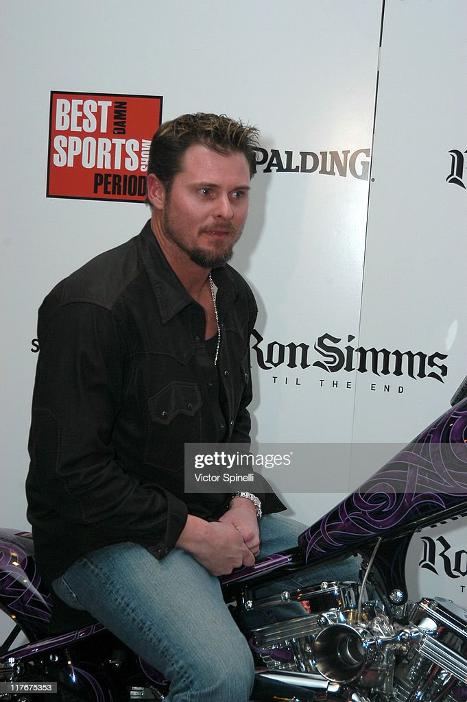 Jason Giambi from the New York Yankees during Best Damn AllStar Party Period Presented by Ron Simms to Benefit Paul Pierces' 'The Truth Fund' and The...