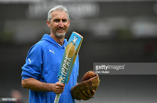Jason Gillespie Head Coach of Yorkshire looks on prior to the start of play during day one of the Specsavers County Championship Division One match...
