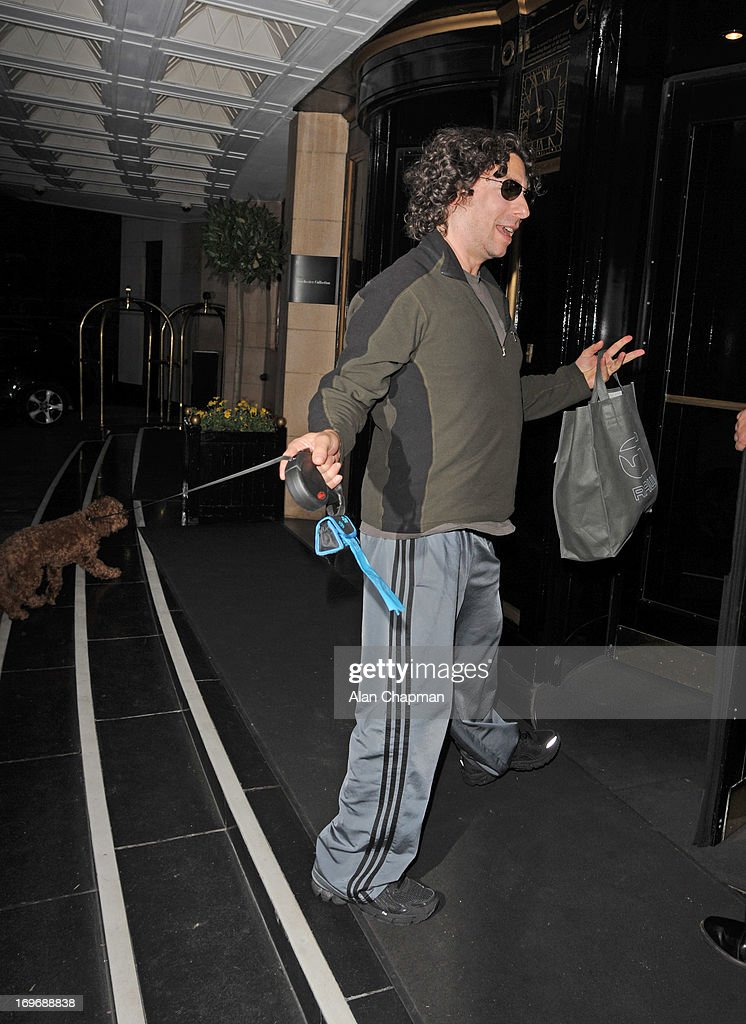 Jason Gould sighting at The Dorchester Hotel Park Lane on May 30, 2013 in London, England.