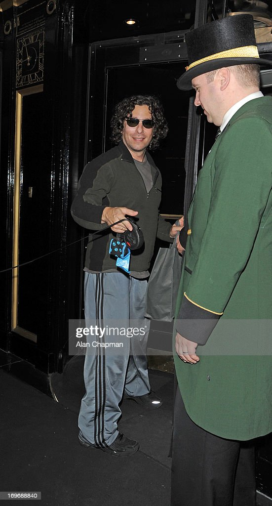 Jason Gould sighting at The Dorchester Hoter Park Lane on May 30, 2013 in London, England.