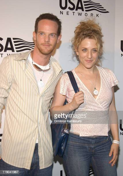 Jason GrayStanford and Bitty Schram during 2003 US Open USA Network Celebrates The Opening Of the 2003 US Open at USTA National Tennis Center in...