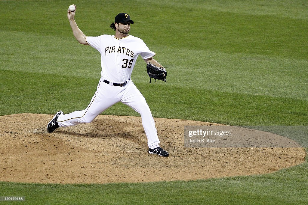 <a gi-track='captionPersonalityLinkClicked' href=/galleries/search?phrase=Jason+Grilli&family=editorial&specificpeople=615724 ng-click='$event.stopPropagation()'>Jason Grilli</a> #39 of the Pittsburgh Pirates pitches in the ninth inning against the San Diego Padres during the game on August 11, 2012 at PNC Park in Pittsburgh, Pennsylvania.