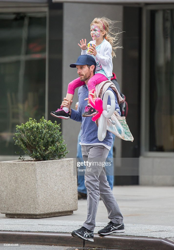 Jason Hoppy and Bryn Hoppy are seen spending quality time together on May 22 2016 in New York City
