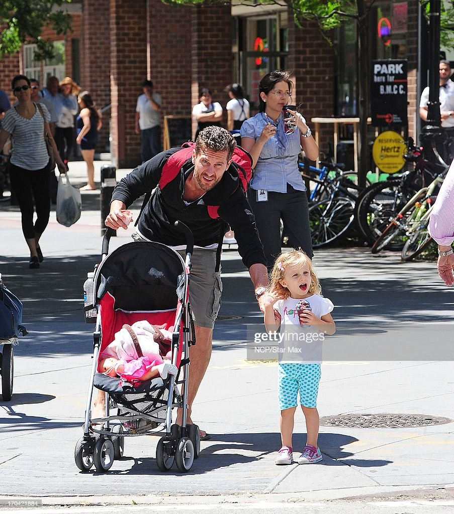 <a gi-track='captionPersonalityLinkClicked' href=/galleries/search?phrase=Jason+Hoppy&family=editorial&specificpeople=5944142 ng-click='$event.stopPropagation()'>Jason Hoppy</a> and <a gi-track='captionPersonalityLinkClicked' href=/galleries/search?phrase=Bryn+Hoppy&family=editorial&specificpeople=7418444 ng-click='$event.stopPropagation()'>Bryn Hoppy</a> as seen on June 12, 2013 in New York City.
