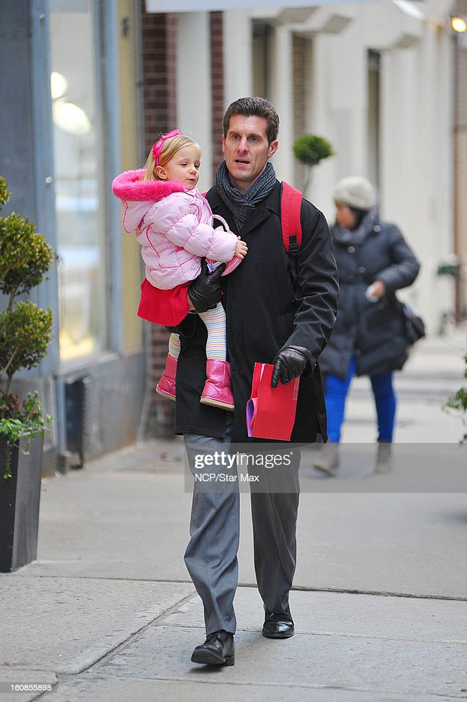 Jason Hoppy and Bryn Hoppy is sighted on February 6, 2013 in New York City.