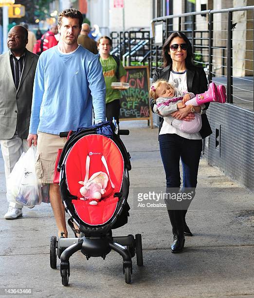 Jason Hoppy Bethenny Frankel and Bryn Hoppy are seen on May 1 2012 in New York City