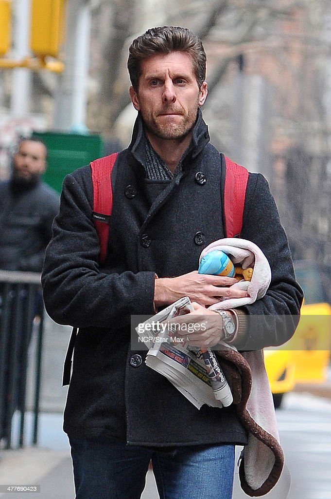 Celebrity Sightings In New York City - March 10, 2014