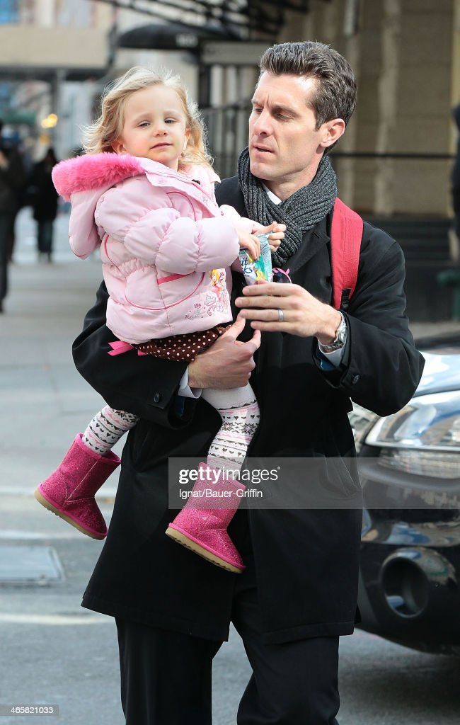 Jason Hoppy is seen with his daughter daughter Bryn Hoppy on March 20 2013 in New York City