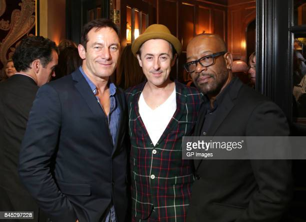Jason Isaacs Alan Cumming and Lennie James attend The Hollywood Foreign Press Association and InStyle's annual celebrations of the 2017 Toronto...