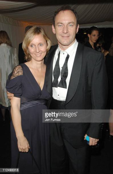 Jason Isaacs and guest during The BFI London Film Festival 'The Last King of Scotland' Opening Gala After Party in London Great Britain