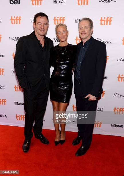 Jason Isaacs Andrea Riseborough and Steve Buscemi attend 'The Death of Stalin' premiere during the 2017 Toronto International Film Festival at Winter...