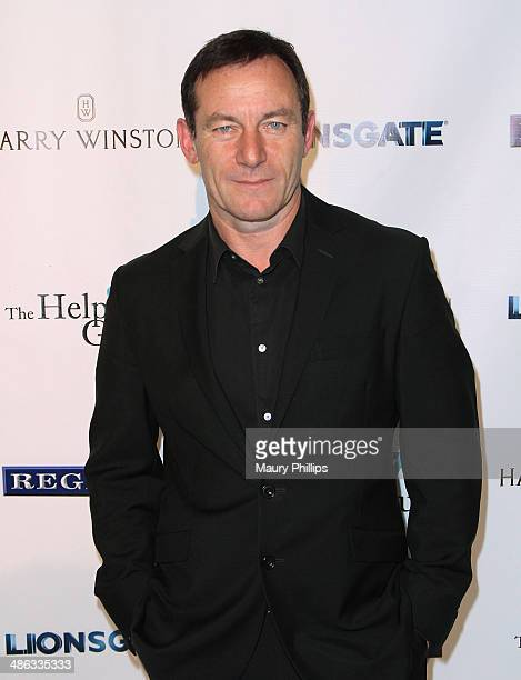 Jason Isaacs arrives at the 17th Annual Teddy Bear Ball at The Beverly Hilton Hotel on April 23 2014 in Beverly Hills California