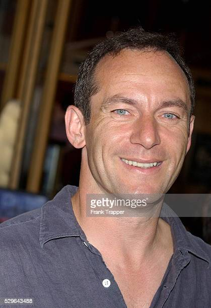 Jason Isaacs arrives at the premiere of 'The Chronicles of Riddick'