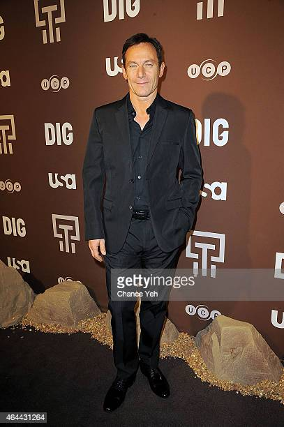 Jason Isaacs attends 'Dig' Series New York Premiere at Capitale on February 25 2015 in New York City