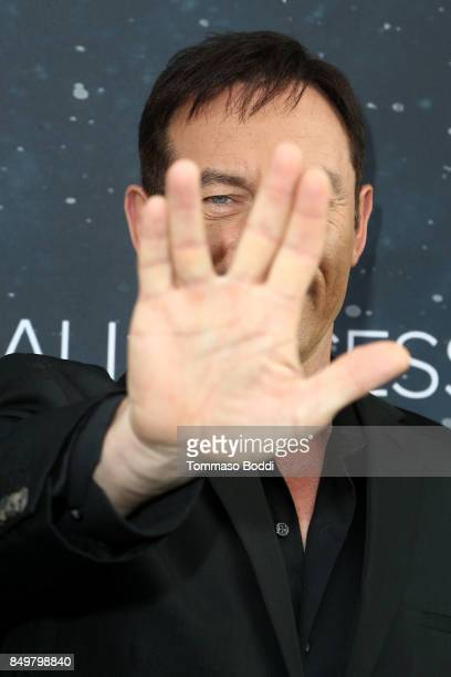 Jason Isaacs attends the premiere of CBS's 'Star Trek Discovery' at The Cinerama Dome on September 19 2017 in Los Angeles California