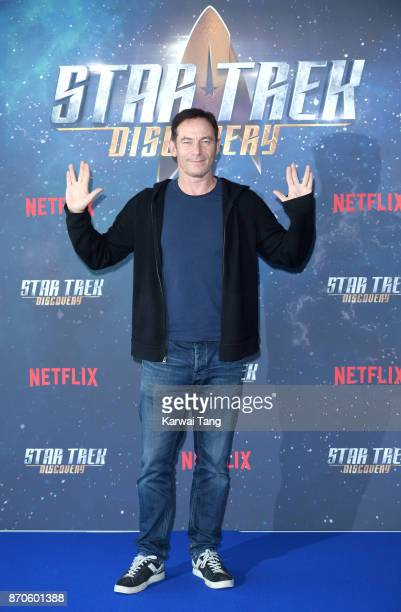Jason Isaacs attends the 'Star Trek Discovery' photocall at Millbank Tower on November 5 2017 in London England