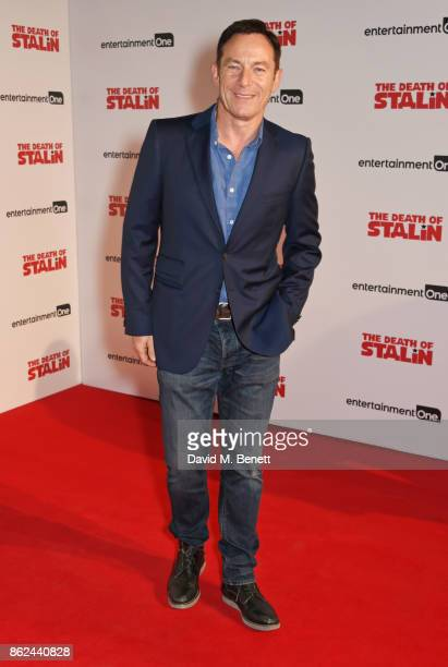 Jason Isaacs attends the UK Premiere of 'The Death Of Stalin' at The Curzon Chelsea on October 17 2017 in London England