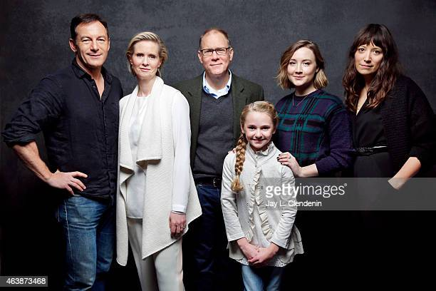 Jason Isaacs Avery Phillips Nikole Beckwith Cynthia Nixon Saoirse Ronan and David Warshofsky from 'Stockholm Pennylvania' pose for a portrait for the...
