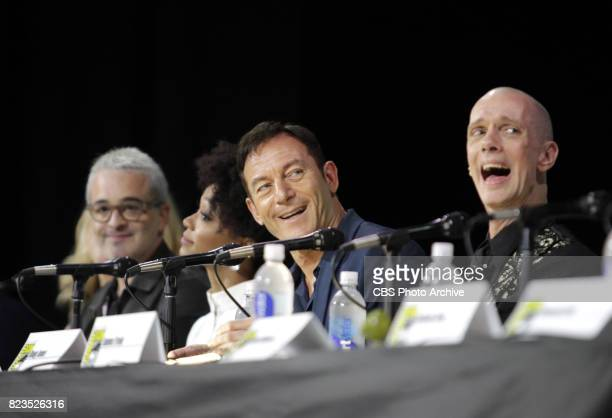 Jason Isaacs Doug Jones during the 'Star Trek Discovery' panel at ComicCon 2017 held in San Diego Ca