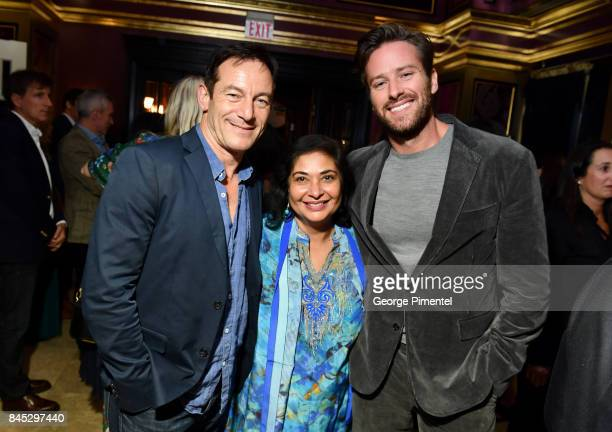 Jason Isaacs HFPA President Meher Tatna and Armie Hammer attend The Hollywood Foreign Press Association and InStyle's annual celebrations of the 2017...