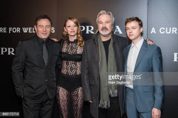 Jason Isaacs Mia Goth Director Gore Verbinski and Dane DeHaan attend the Cinema Society Screening Of 'A Cure For Wellness' at Landmark's Sunshine...
