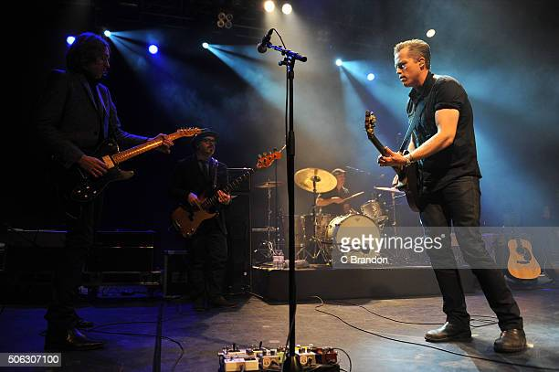 Jason Isbell performs on stage at the O2 Forum Kentish Town on January 22 2016 in London England