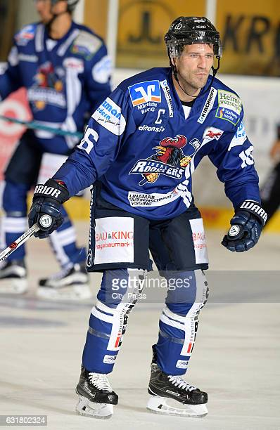 Jason Jaspers of the Iserlohn Roosters during the action shot on September 3 2016 in Iserlohn Germany