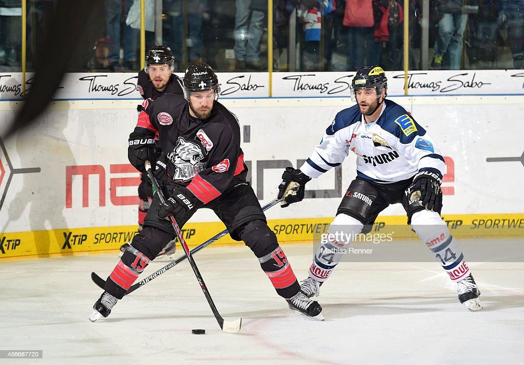 Thomas Sabo Ice Tigers v ERC Ingolstadt - Deutsche Eishockey Liga