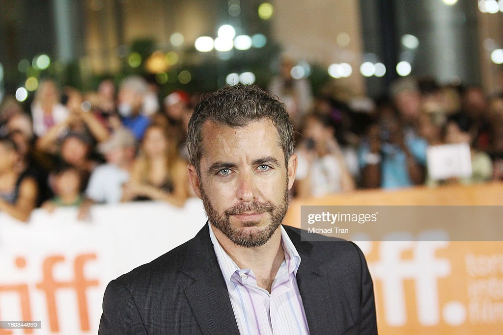 Jason Jones arrives at 'The Art Of The Steal' premiere during the 2013 Toronto International Film Festival held at Roy Thomson Hall on September 11...